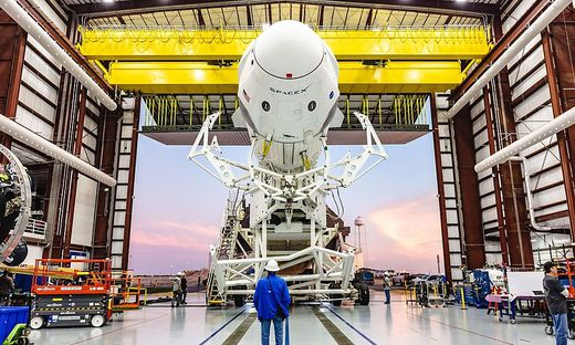 Testflug einer neuen Raumkapsel