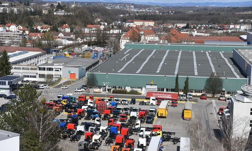 Der MAN-Standort in Steyr