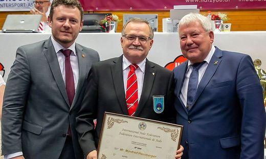Manfred Hausberger prägte den Judosport