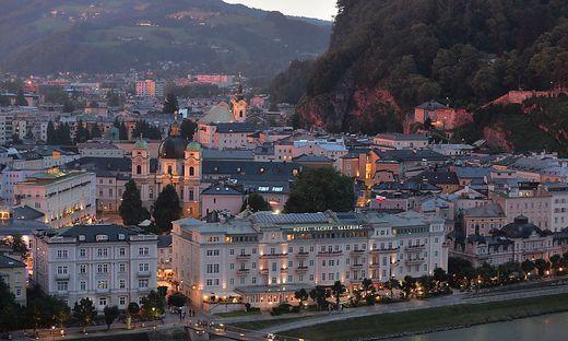 Zu der Schlägerei kam es in einem Lokal im Zentrum von Salzburg
