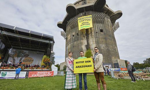Greenpeace macht seit geraumer Zeit Stimmung gegen das Mercosur-Abkommen