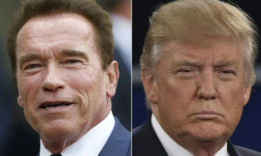 Die Fehde zwischen Trump und Schwarzenegger geht weiter