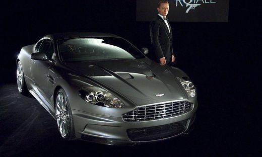 Bonds legendärer Aston Martin in Kalifornien versteigert