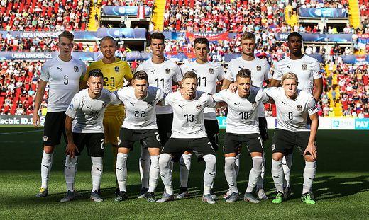 Österreichs U21-Startelf gegen Serbien