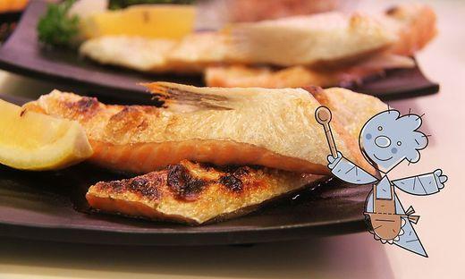 Fisch auf mediterrane Art