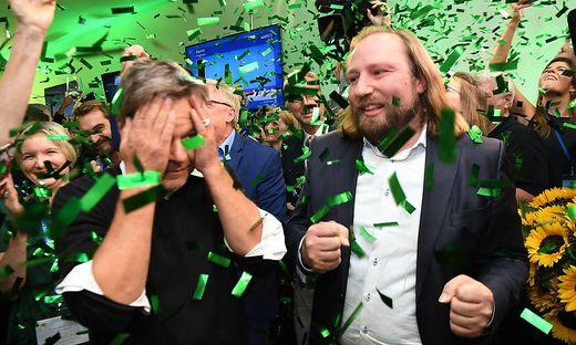 Die Grünen können sich über gute Umfragewerte freuen