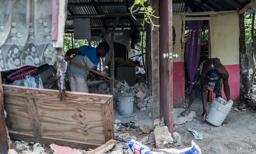 Haiti kämpft derzeit gegen die Folgen des schweren Erdbebens