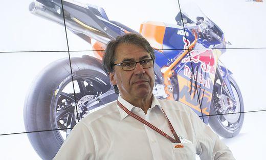 PRESSEKONFERENZ KTM: PRAeSENTATION DES KTM RC16 MOTOGP PROJEKTS / PIERER