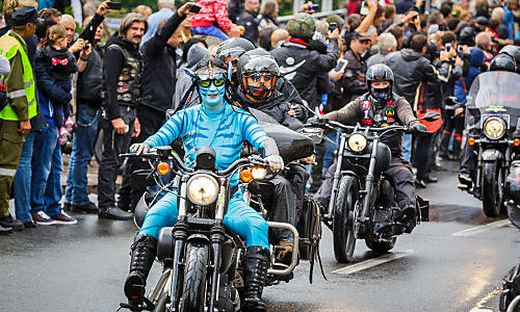 2014 war die bislang größte European Bike Week mit 130.000 Besucherinnen und Besuchern