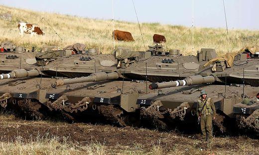 Kräftemessen auf den Golan-Höhen