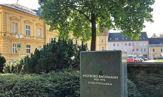 Von der Büste Ingeborg Bachmanns ist nichts mehr zu sehen