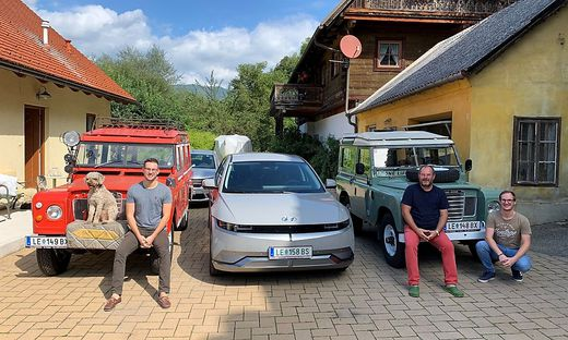 richard schmatz, leoben, defender, landrover, land rover, e-mobilitaet, e-auto, elektroauto