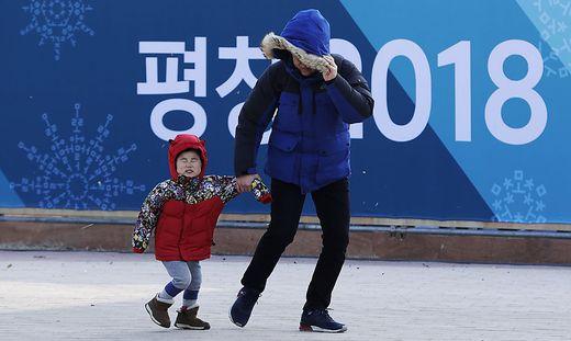 Der Wind sorgt bei den Olympischen Spielen für Probleme
