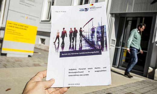 Landesgesellschaften Rechnungshofbericht Klagenfurt Oktober 2019