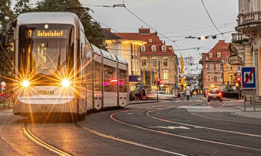 Bitte warten heißt es derzeit für alle Straßenbahnfahrer in Graz