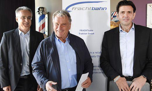 Hans Peter Haselsteiner will auch im Güterverkehr mitmischen