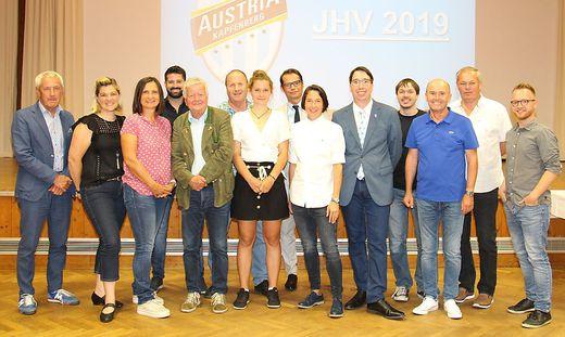Die führenden Köpfe des SV Austria Kapfenberg