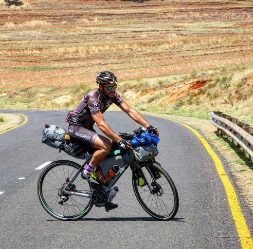 Francesco Ciaghi reiste tausende von Kilometern von Afrika bis nach Italien