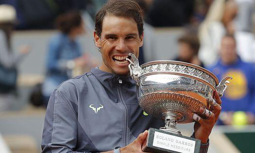 Rafael Nadal holte sich seinen 12. Titel in Paris