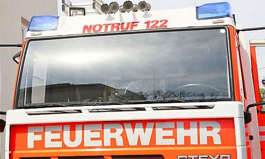 Die Feuerwehr Ossiach rückte zu den eingeschlossenen Personen aus