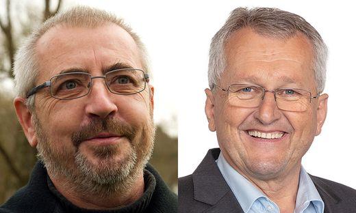 Mit Unterstützung von Werner Kammel und seinen Grünen (links) wird Karl Kowald von der ÖVP neuer Bürgermeister von Wildon