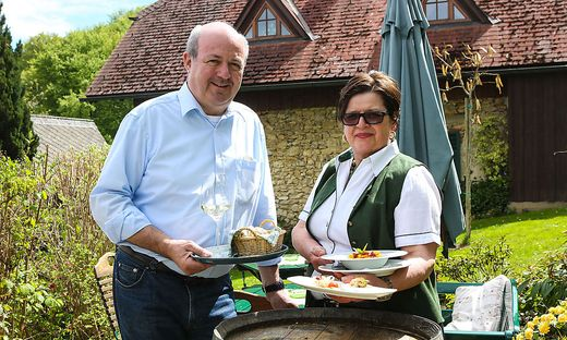 Für die veganen Kreationen kommen Gäste extra zu Dieter und Uli Firmenich nach Ehrenhausen