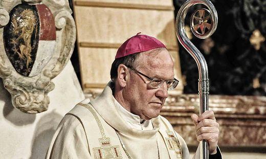 Bischof Alois Schwarz wechselte im Juli 2018 von Klagenfurt nach St. Pölten