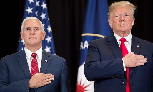 Pence und Trump