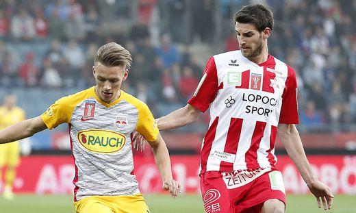FUSSBALL: UNIQA OeFB CUP / GAK - RED BULL SALZBURG