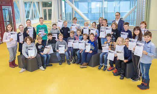 29.11.2019 - Ueberreichung Jungforscherdiplom - Lienz
