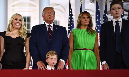 Trump und seine Familie