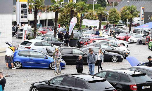 GTI-Nachtreffen in Selpritsch: Hunderte Tuning-Fans sind in Kärnten unterwegs