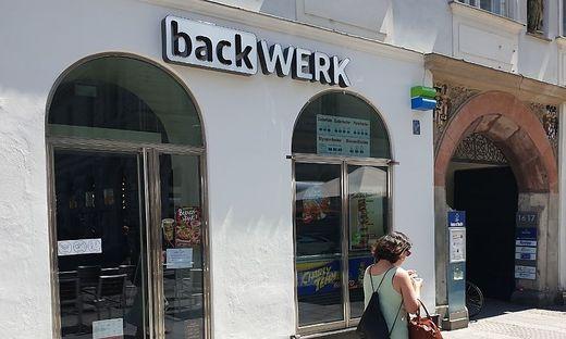 Seit Kurzem geschlossen: BackWerk am Grazer Hauptplatz