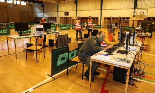 Manfred Hofer, Kommandant des Truppenübungsplatzes Seetaler Alpe, wird auch die nun regelmäßig stattfindenden Coronatests in der Judenburger Lindfeldhalle koordinieren
