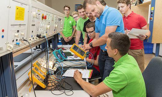 Das neue Ausbildungszentrum hat Platz für mehr Lehrlinge