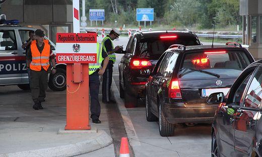 """Kärnten scheint von der """"Balkanroute"""" unberührt, die Grenzkontrollen zu Slowenien bleiben laut Innenministerium aber bis vorerst 13. November aufrecht"""