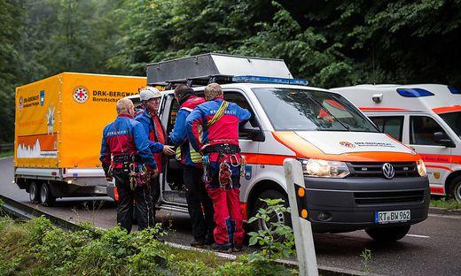 Rettungsaktion Falkensteiner Hoehle