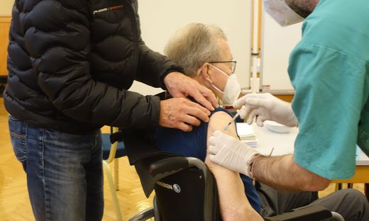 Impfstrasze Voitsberg Stadtsaele Corona Impfung