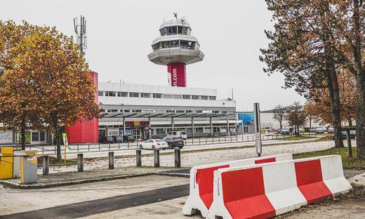 Der Flughafen in Klagenfurt