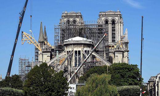Notre-Dame im Juli 2019