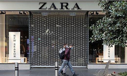 Im Umbruch: Bei Zara sollen Onlineverkauf und stationäre Auftritte besser verzahnt werden