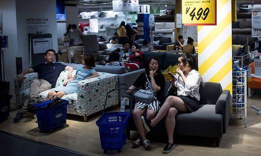 Ikea schließt alle Einrichtungshäuser in China