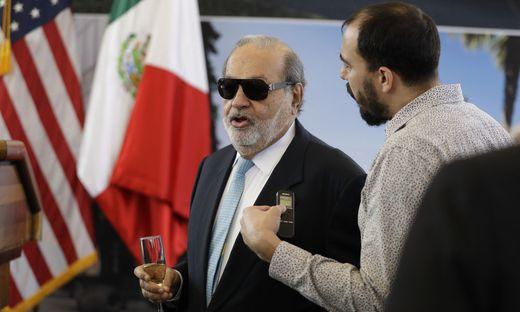 Der mexikanische Milliardär Carlos Slim