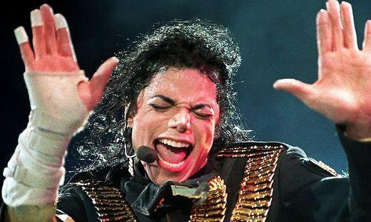 Michael Jackson auf einem Foto aus dem Jahr 1993