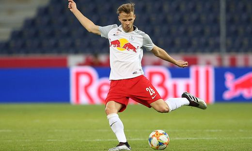 Lukas Stumberger trainiert mit dem TSV Hartberg