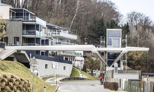 In Dellach entstanden im Winter gleich zwei neue Übergänge