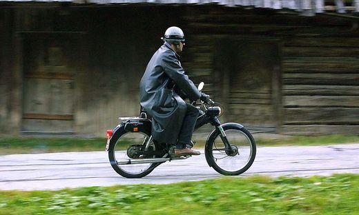 Mit einem nicht für den Verkehr zugelassenen Moped war ein Oberkärntner unterwegs