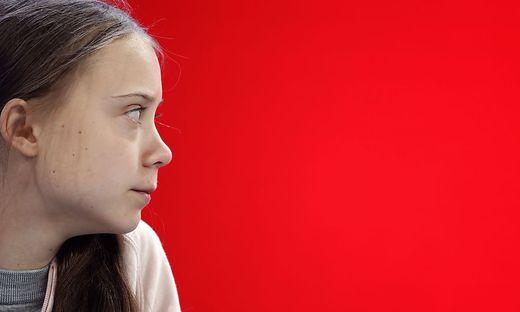 Greta Thunberg führt ein Zwiegespräch