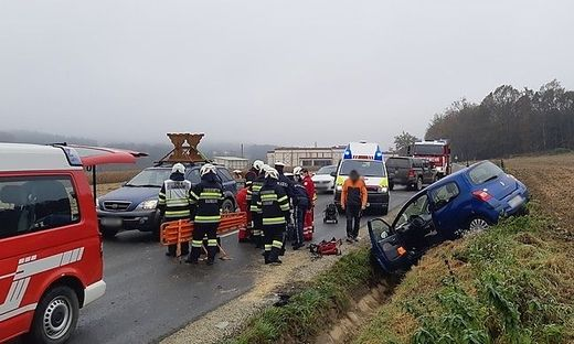 Unfall bei Kaindorf