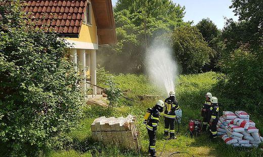 Brandeinsatz in Diepersdorf